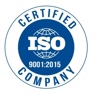 We are ISO certificated!
